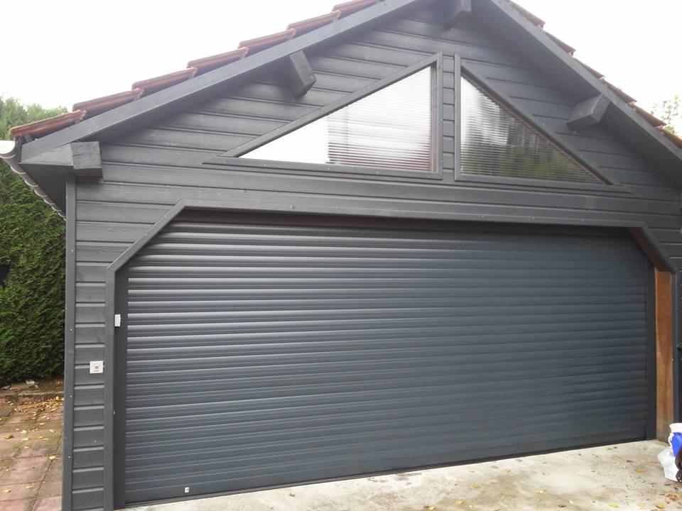 Porte de garage Aluminium Enroulable