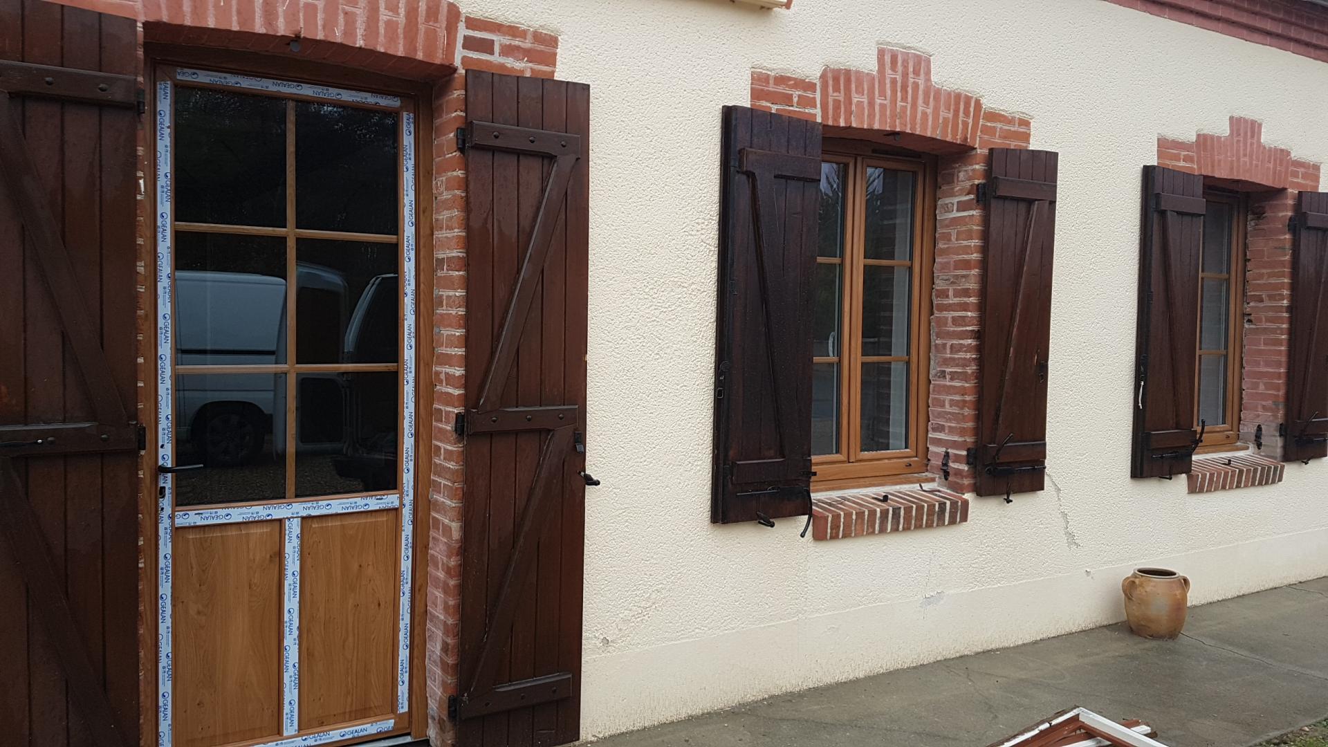 porte et fenetre PVC plaxé winchester